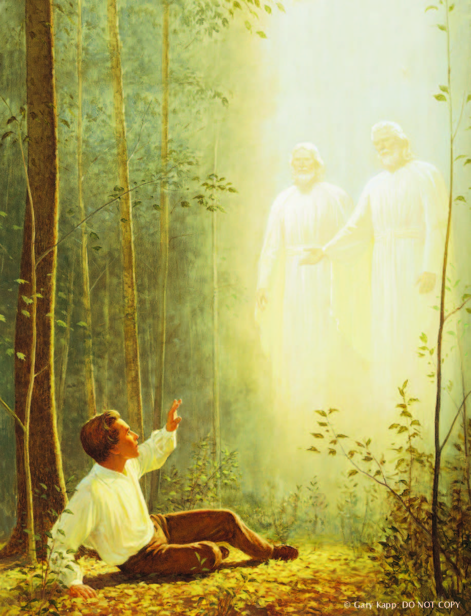 joseph smith in the grove