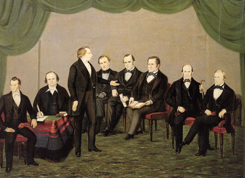 Group of Mormon Leaders